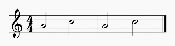 ля до флейта для начинающих